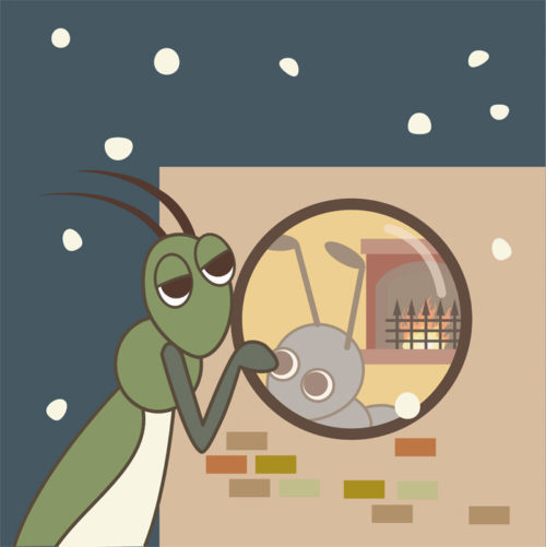 「アリとキリギリス」は今の時代の構図だった!
